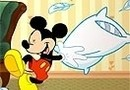 Mickey and Friends Pillow Fight